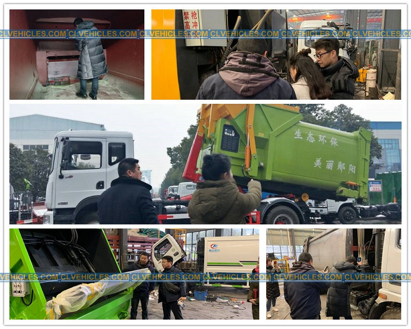 Compactor waste equipment training