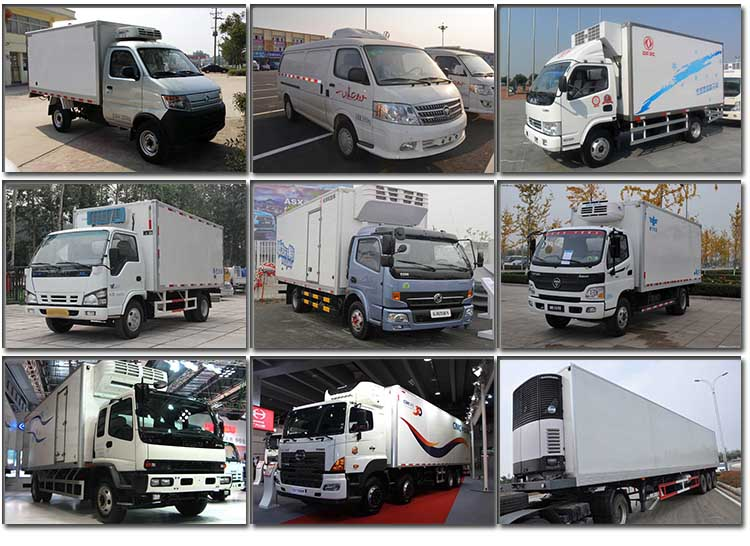 DFAC Captain 8000kg Refrigerator Van Cold Chain Truck  suppliers,manufacturers,factories from China | CLVEHICLES.COM
