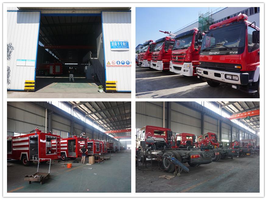 Fire truck workshop