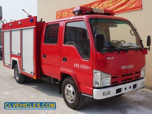 Water Tank Fire Engine