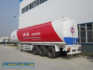 food oil carrier semi trailer