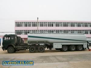 gasoline transport tank trailer