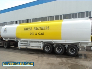mobile fuel tank trailer