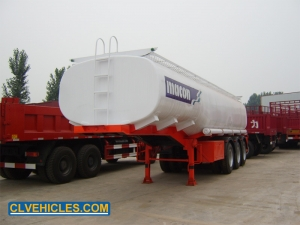carbon steel fuel tank trailer