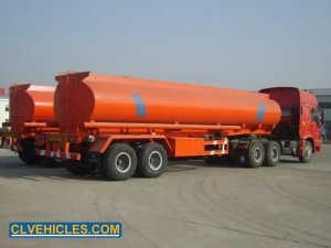 Double axle Fuel Tanker Trailer