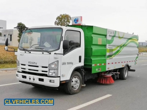 Road Washing And Sweeping Truck