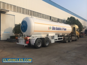 lpg gas semi trailer