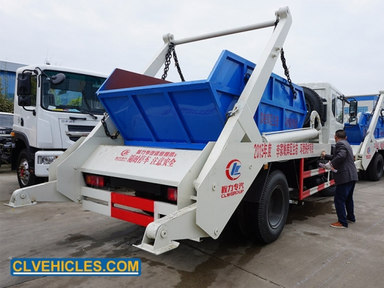 Swept Body Refuse Collector