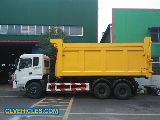 Removable Garbage Truck