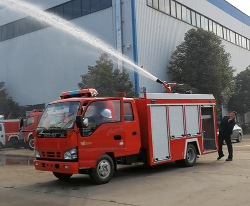 One unit of ISUZU 3000L Fire Truck Ship to Philippines
