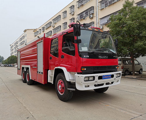 One unit of ISUZU FVZ 16ton Fire Fighting Truck Ship to Nigeria