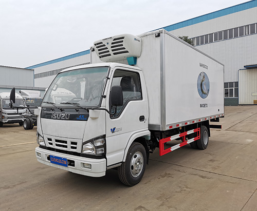 One unit of ISUZU 600P 5m Refrigerator Truck Ship to Costa Rica
